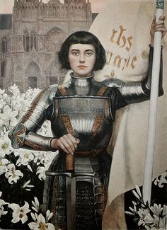 Joan of Arc, 1903, by Albert Lynch | I am not afraid. I was born to do this.  - Joan of Arc