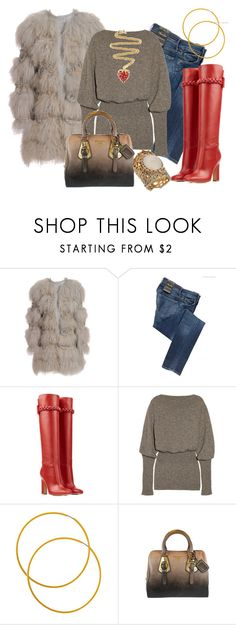 """""""CASUAL CHIC"""" by outfits-de-moda2 ❤ liked on Polyvore featuring Chloé, Citizens of Humanity, Valentino, Rick Owens, Forever 21, Prada and Miss Selfridge"""