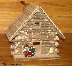 cabin dollhouse includes furniture dolls by funnyfarmtoybarn 30000 vintage modern dollhouse furniture 1200 etsy