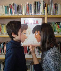 Bookface avec la BD Louca