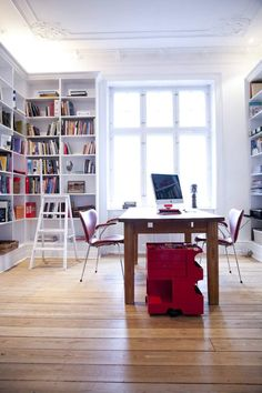 corner library & bright light