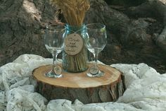 Can totally make these wine glasses as party favors and buy them at the dollar store!