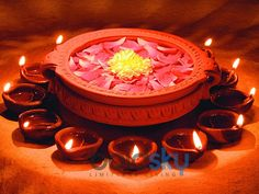 Beautiful Diwali wishes for all. Free online Divine Festival Of Lights ecards on Diwali Diwali Pooja, Diwali Party, Diwali Craft, Diwali Rangoli, Diya Decoration Ideas, Diwali Decorations At Home, Festival Decorations, Flower Decorations, Indian Decoration