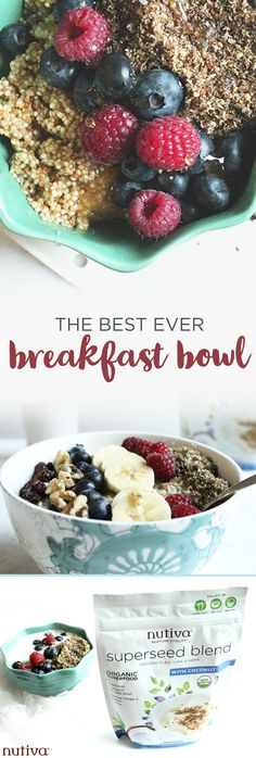 The Best Ever Breakfast Bowl kitchen.nutiva.com