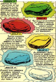 Kryptonite, because someone with the power of a Super-man in our universe -- Wouldn't be a boy scout.