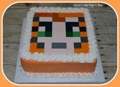 Stampy Cat Cake by Christy's Cake Pops & More