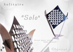 [Objectal.fr] Solitaire '' Solo '' Acier et Inox by Objectal on DeviantArt
