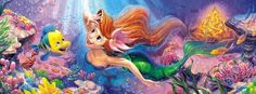 Tenyo Disney Princess Ariel the Little Mermaid 950 pcs. Gifts Online Today - sell Japan jigsaw puzzle, classic and out of print jigsaw puzzles to worldwide. Disney All Characters Collection - Japanese jigsaw puzzle from Japan. Cover Pics For Facebook, Fb Cover Photos, Facebook Timeline Covers, Timeline Photos, Facebook Profile, Disney Little Mermaids, Mermaids And Mermen, Ariel The Little Mermaid, Disney Timeline