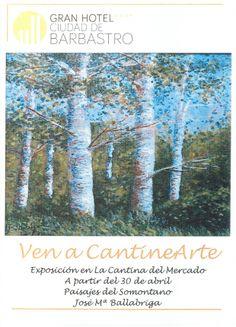 Cartel exposición de Jose Mª Ballabriga