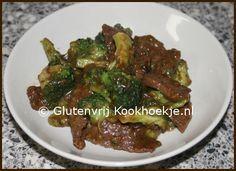 Biefstukreepjes met broccoli | Het Glutenvrije Kookhoekje