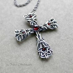 Linda - Sterling Silver Cross by taniri on DeviantArt