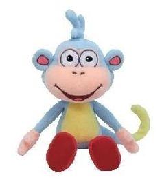 Amazon.com  Ty Beanie Baby Boots Dora s Monkey  Toys   Games 21f8a5d0ce21