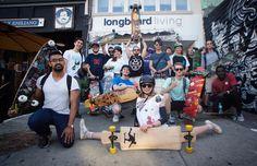 Squad Pic. #SideStreetSurfing session 9 #keeponpushing #longboard #longboardliving #skateshop #blog #kensingtonmarket