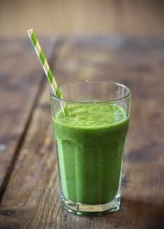 Detox smoothie:  1 cup water or coconut water 2 bunches kale Juice of 1 lemon 1 green apple, chopped 2 pitted dates 1 to 2 slices ginger 1/2 cup of ice Flax or chia seeds, optional