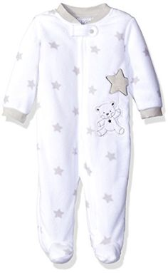 Rene Rofe Baby Coverall Microfleece Zip Front White Bear 36 Months -- Click image to review more details.Note:It is affiliate link to Amazon.