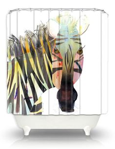 Artistic Shower Curtains by DiaNoche by DianocheDesignsDecor, $89.00 #LetsCurate