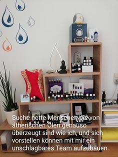Young Living, Bookcase, Essential Oils, Shelves, Home Decor, Simple, Shelving, Decoration Home, Room Decor