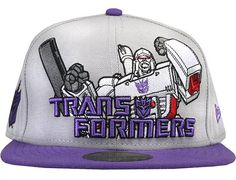 Megatron 59Fifty Fitted Baseball Cap by HASBRO x NEW ERA