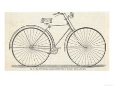 Vintage Bicycle Posters, Bicycle Vintage Posters