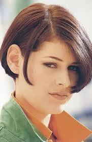 Resultado de imagen para cortes de pelo para cara redonda y cuello corto