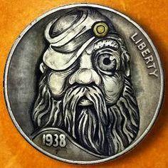 Italy Pictures, Hobo Nickel, Coin Art, Old Money, Old Coins, Metal Art, Soldiers, Rebel, Warriors