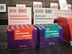 Whitney - Membership gift card