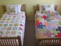 Farmer's Wife and Plus quilts by s.o.t.a.k handmade, via Flickr