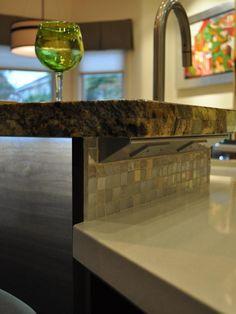 Glass-Front China Cabinet and Butcher Block Island : Designers' Portfolio : HGTV - Home & Garden Television