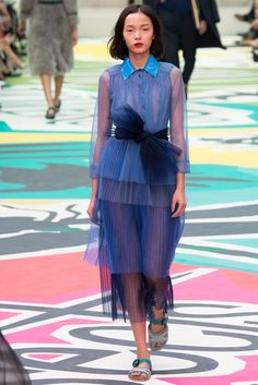 Burberry Prorsum Spring 2015 Ready-to-Wear - Collection - Gallery - Look 2 - Style.com