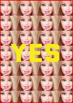 Yes - poster anti barbie