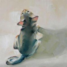 """Little Fawn Girl"" - Original Fine Art for Sale - © Cheryl Wilson"