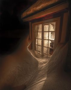 """""""and I had the cottages in a row Up to their shining eyes in snow"""" Good Hours by Robert Frost..love"""