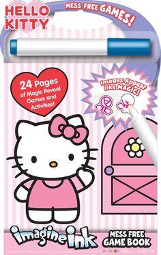 Amazon.com  Bendon Hello Kitty Mess-Free Game Book  Toys  amp  d9d7df8299069