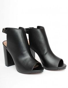 Jessica Wright Black Adrianna Ankle Boots | Accent Clothing