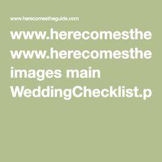 www.herecomestheguide.com images main WeddingChecklist.pdf