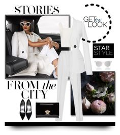 """""""Stories From The City"""" by jacque-reid ❤ liked on Polyvore featuring Dolce&Gabbana, Thakoon Addition, Spektre, Versace, versace, dolcegabbana and johannaortiz"""