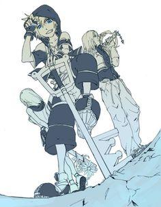 Sora, Riku & Kairi