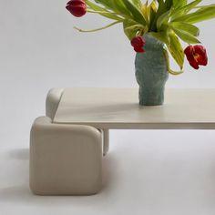 "s t u d i o   m i g n o n e on Instagram: ""🥀Tavolo morbido plain concrete."" Concrete, Vase, Instagram, Home Decor, Homemade Home Decor, Interior Design, Jars, Home Interiors, Vases"