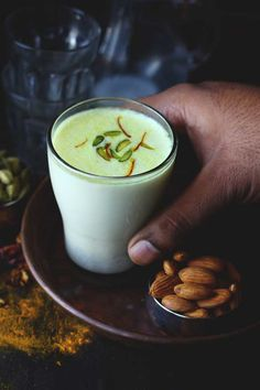 Have you ever tried Khas Khas Doodh? It is a golden winter bliss prepared with white poppy seed, almonds, and milk. funfoodfrolic.com