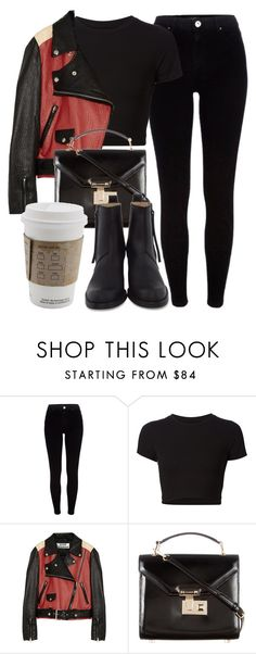 """""""Untitled #5793"""" by laurenmboot ❤ liked on Polyvore featuring River Island, Getting Back To Square One, Acne Studios and Rebecca Minkoff"""