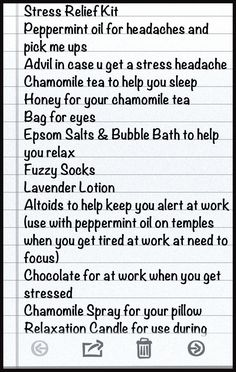 Omg guys this really works. I have exams on Friday and all next week and I am so stressed and I have done so many of these things. It works!
