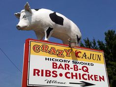 Crazy Cajun Bar-B-Q, Edgehill, VA