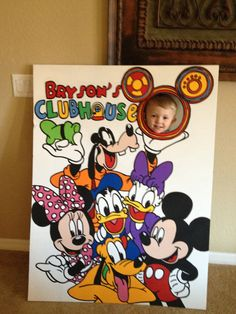 Lets be Toodles Mickey Mouse Clubhouse character s Photo Prop