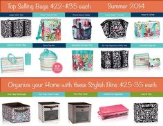 Thirty-One Products $22 to $35