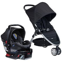 Specifically paired to deliver utmost convenience, comfort and maximum safety, the B-Agile 3/B-Safe 35 Travel System from BRITAX features the Click & Go system to make the perfect stroller and infant car seat combo when travelling with baby.