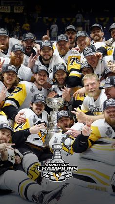 The Stanley Cup CHAMPS