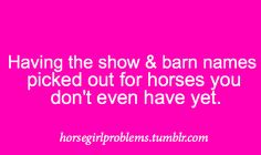 Horse girl problems    HOLY BUCKETS! I seriously didn't think other people did this!!! WHOA! :)