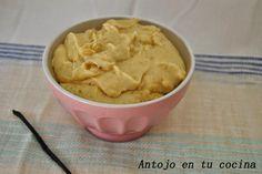 Crema pastelera tradicional y de chocolate