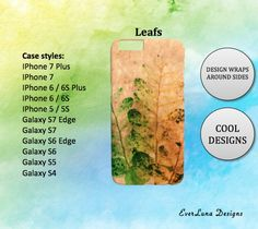 Leafs iPhone 7 Case iPhone 7 Plus Case iPhone 6 by EverLunaStore Iphone 6, Iphone 7 Plus Cases, Galaxy, Phone Case, Unique Jewelry, Handmade Gifts, Etsy, Design, Kid Craft Gifts
