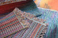 compute code glitches turned into rugs! get out!! ~ via Brit+Co (originally of Philip Stearns of Glitch Textiles)